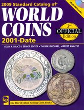 2009 World Coins 2001-Date, 3rd Ed. + DVD ( ! )