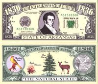 Arkansas - 2003 Funny Money by AAC