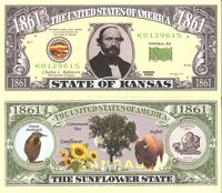 Kansas - 2003 Funny Money by AAC