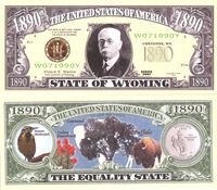 Wyoming - 2003 Funny Money by AAC